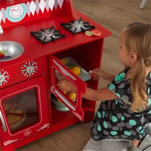 Kidkraft 53362 Classic Kitchenette Kids Pretend Play Kitchen Stove
