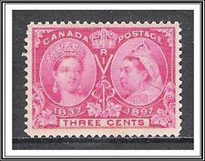 Canada #53i Diamond Jubilee MNH