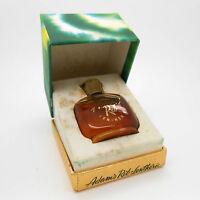 Vintage Lentheric Adams Rib 1/4 Oz Perfume Parfum Mini