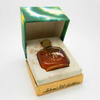 Vintage Lentheric Adams Rib 1/4 Oz Perfume Parfum Mini