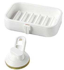 weiß NEU OVP 302.970.09 IKEA STUGVIK Seifenschale mit Saugnapf
