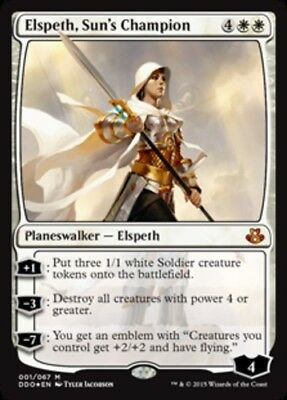 Elspeth, Sun's Champion - Foil x1 Magic the Gathering 1x Duel Decks: Elspeth vs