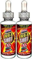 Ener-b Liquid Shot Vitamin B-12 B12 5000mcg 5mg Berry Dietary Supplement 4 Fl Oz