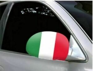 Italy Car Mirror Flag Covers Euro/World Cup Cars/SUV's