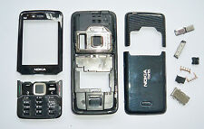 Full Black Housing cover Case fascias facia For Nokia n82 black fascias