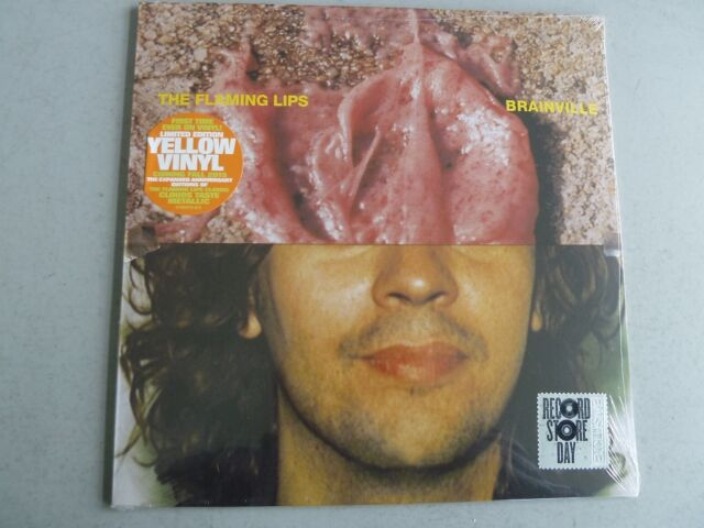 "THE FLAMING LIPS - Brainville ***yellow 10""-Vinyl***NEW***sealed***RSD 2015***"