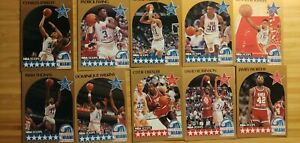 1990/91 NBA HOOPS BASKETBALL CARDS Complet Your Set YOU CHOOSE STARS #251-440