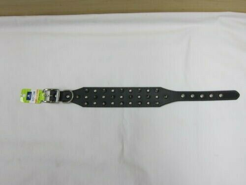 Brand New Top Paw Spike and Stud Leather Dog Collar Med