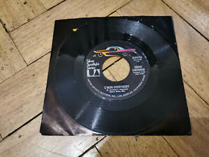 "eddie cochran c'mon everybody 7"" vinyl record very good condition"