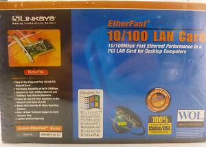 Windows XP LINKSYS LNE100TX broadband EtherFast 10/100