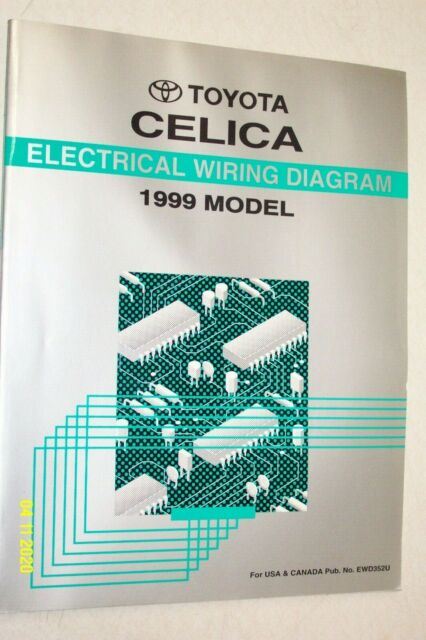 1999 Toyota Celica Electronic Wiring Diagram Manual Ewd