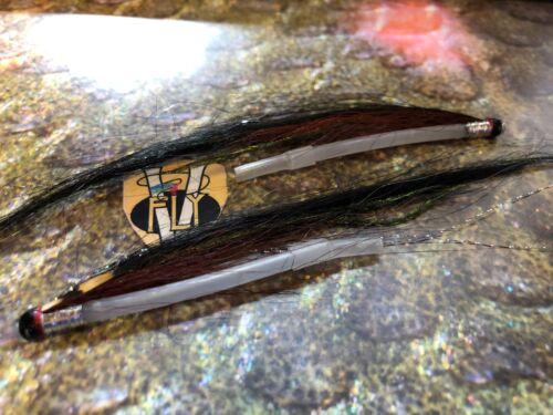 2 V FLY aaroy Signature PIETRA BIANCA Sunray OMBRA Tubo Salmone Mosche /& vibrazioni