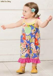 Matilda Jane Parachute Romper Size 12-18 18-24 Months New In Bag Girls Baby