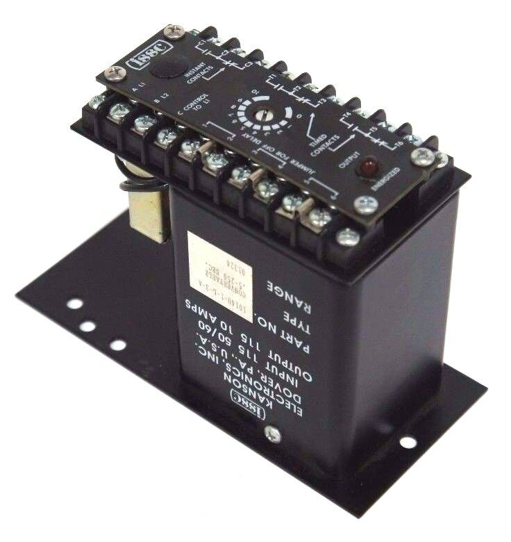 NEW ISSC 1014U-1-L-3-A SOLID STATE TIMER TYPE .05-250