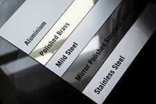 various thicknesses and materials. SHEET METAL 2-3 day delivery