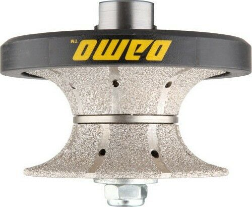 DAMO V50(2 ) Bullnose Diamond Hand Profiler Router Bit for Granite Countertop