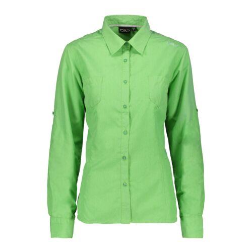 Hemden CMP Bluse  Woman Shirt grün atmungsaktiv elastisch leicht schnelltrocknend