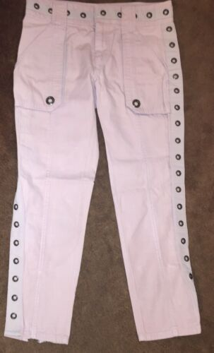 Marc Jacobs Vintage Mauve Pink Pants  With Metal G