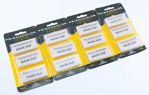 Prismacolor Premier Magic Rub Art Vinyl Erasers Latex Free Lot of 4 Packs