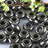 Wholesale Black Hematite Gemstone Stone Big Hole Loose Beads Fit Charms Bracelet