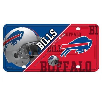 Rico NFL Buffalo Bills #1 Fan Metal Auto Tag