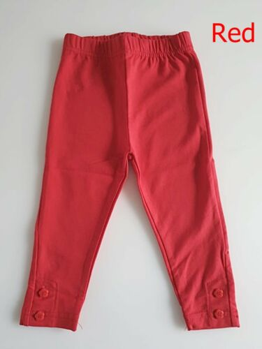£16 RRP Jojo Maman Bebe Red Essential Cotton Leggings All Size Months Years