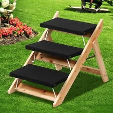 Folding Pet Step Ramp Dog Cat Stairs Steps Portable Ladder New Max load 80 lbs