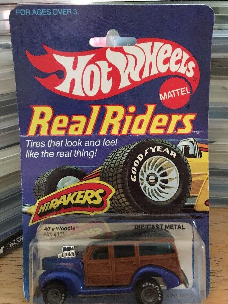 Hot Wheels 1982 Real Riders  40's Woodie Hirakers Hong Kong
