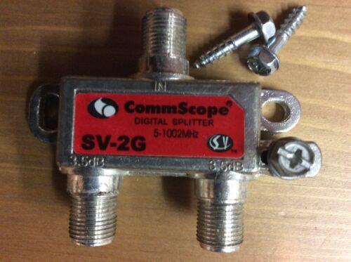 Lot 50 CommScope SV-2G 2-way Coaxial Splitter 5-1000mhz