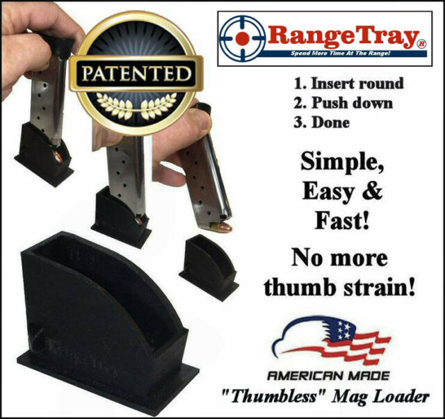 Thumbless Magazine Speedloader for Rock Island Armory 1911 9mm Lifetime