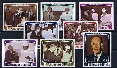 Symbol Der Marke Guinea Minr 835 - 842 Geschnitten Ohne Preisnotierung Postfrisch **
