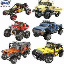 Xingbao Building Blocks Model Kits Super ATV Toys Gifts SUV Car Creative Mini