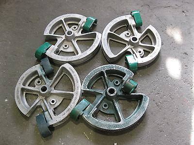 """Greenlee 5018659 1818 Mechanical Bender 1-1//4/"""" /& 1-1//2/"""" Rigid Shoe Used"""