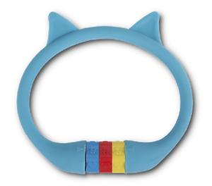 """RFR Zahlenkabelschloss blau/""""CAT/"""" 10x350 mm Kinderschloss Motiv Fahrradschloss"""