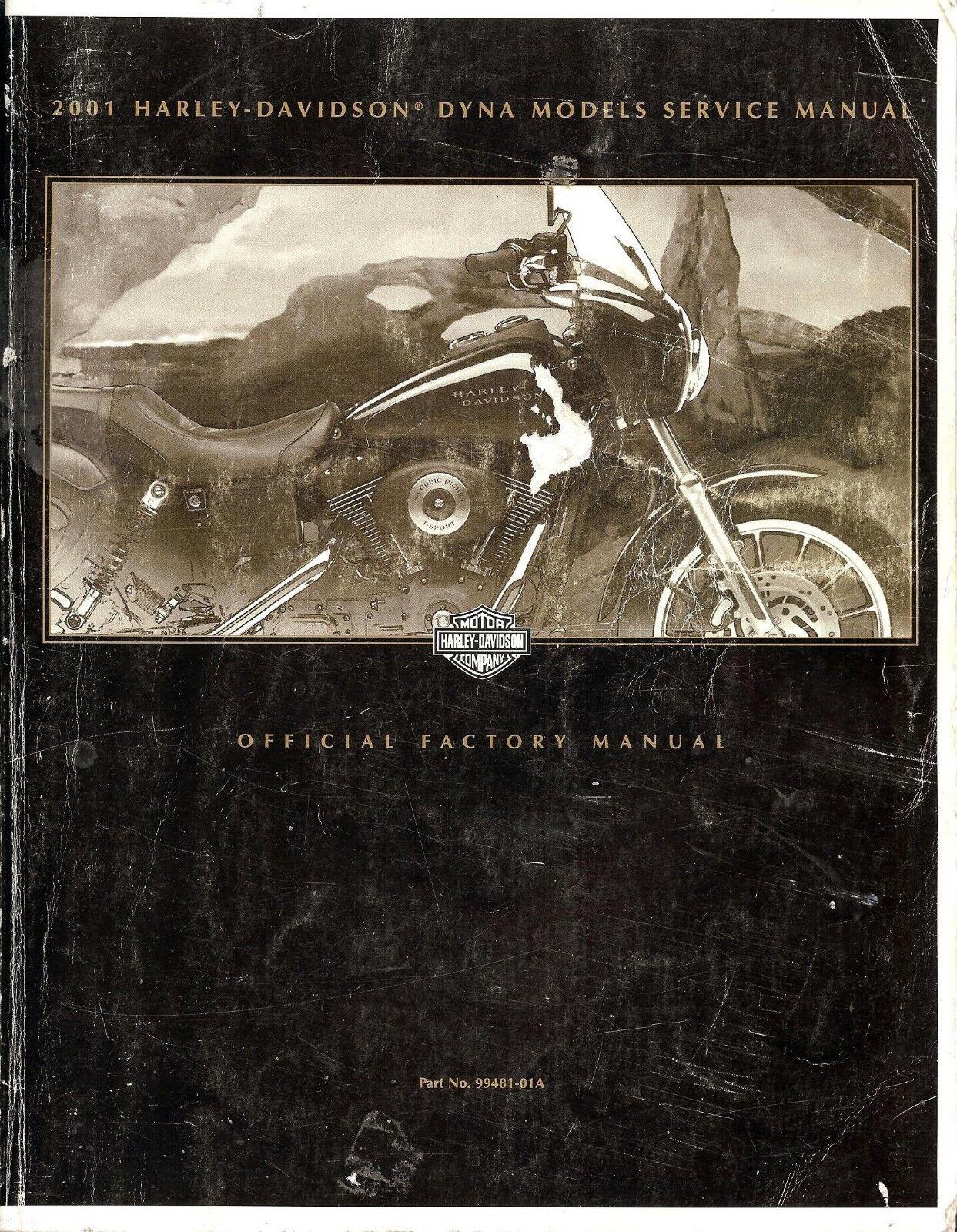 2001 Harley-Davidson Dyna Service Manual