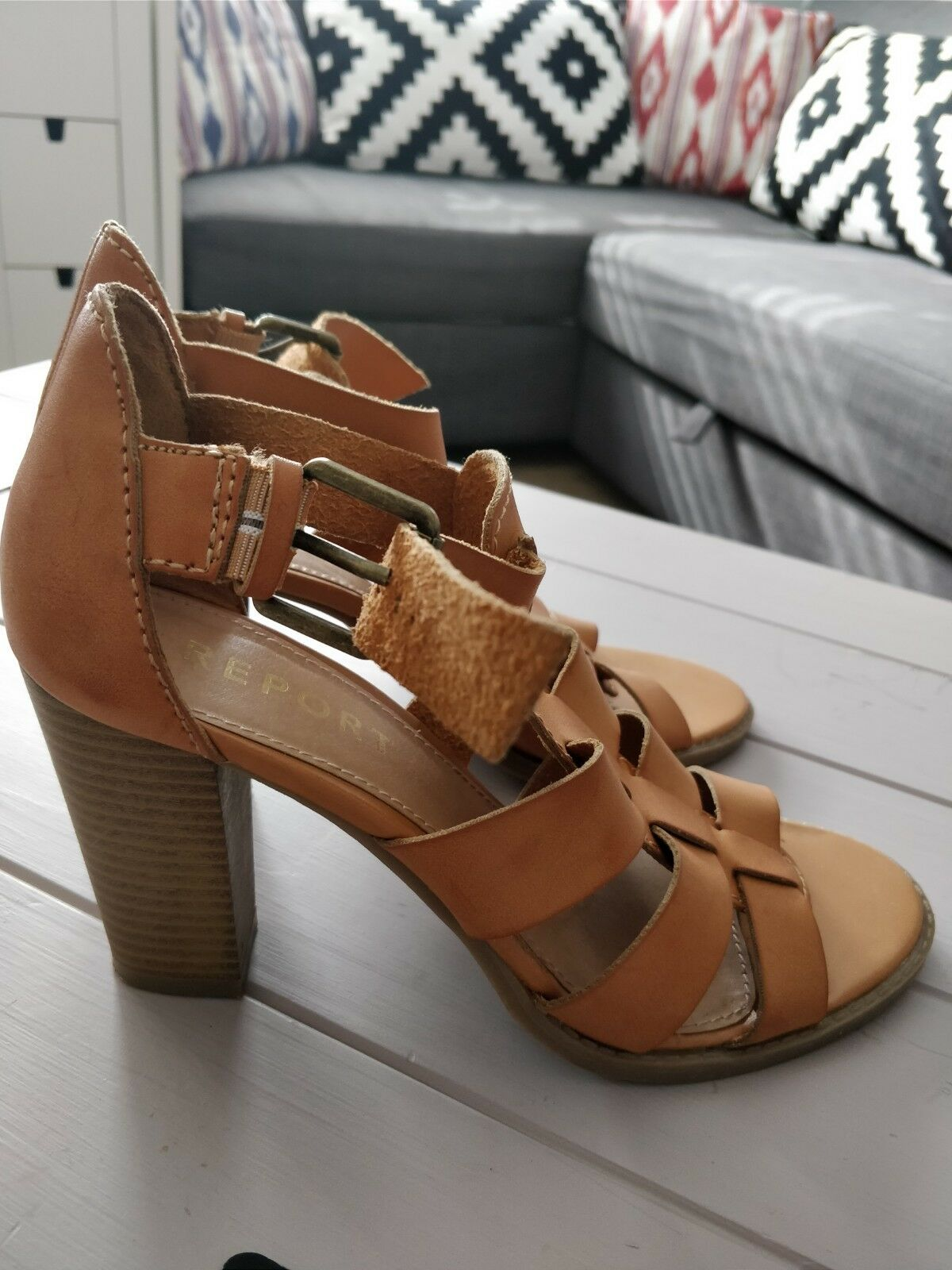 Gentlemen/Ladies Report Tan Special leather sandals size  Special Tan price Skilled manufacturing Extreme speed logistics 4029c9