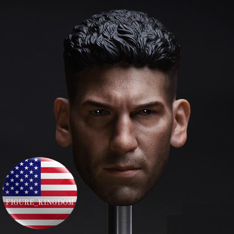 1 6 Punisher Jon Bernthal Head Sculpt For 12  Hot Toys PHICEN Male Figure USA