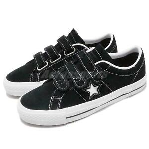 consenso fascismo Soltero  Converse One Star Pro 3V OX Black White Men Women Skate Boarding Shoes  162518C | eBay