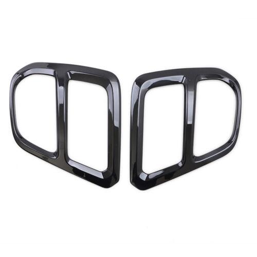 For Subaru Forester SK 2019 Glossy Black Front Fog Light Lamp Cover Trim Sticker