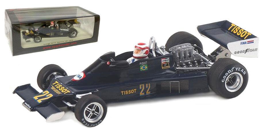 SPARK S4815 Ensign N177    22 German GP 1978-Nelson Piquet échelle 1 43 332756