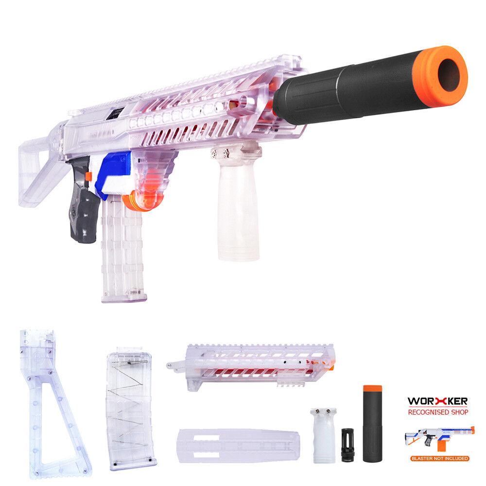 colores increíbles Trabajador Mod claro Sig Sauer MCX Imitación Kit Kit Kit 6 artículos Nerf Retaliator Juguete  servicio considerado