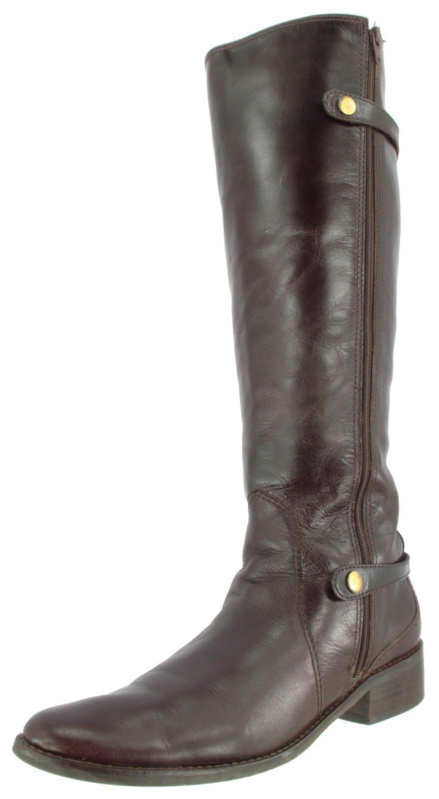 MATISSE USED WOMEN'S LEATHER TALL FASHION RIDING BOOTS  US 8, EU 39