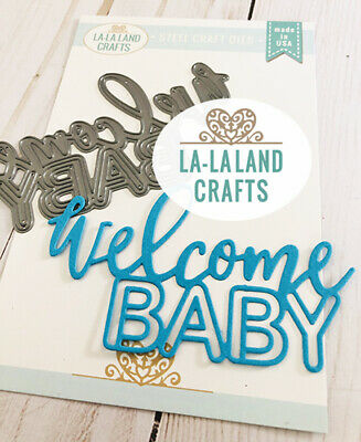 DECORATIVE ACCENT STEEL DIE-La-La Land Crafts-Marci/&Luka Stamps-Wafer Thin Dies