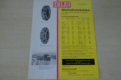 Gleitschutzketten The Best 198032 Erlau Prospekt 1959