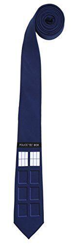 DOCTOR WHO - Tardis Necktie (Elope) #NEW