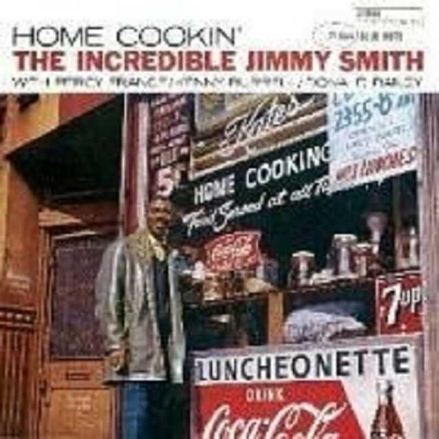 "JIMMY SMITH ""HOME COOKIN' "" CD NEU"