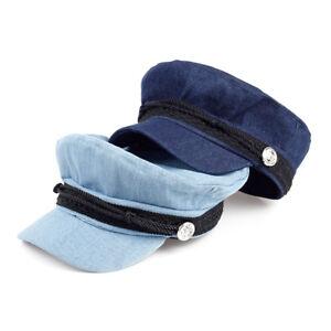 Details about Breton Cap Unisex Beret Fisherman Style Fiddler Mariner Greek Vintage  Sailor Hat ab43e737f3c
