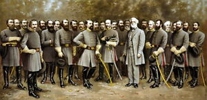 New-10x19-Poster-Robert-E-Lee-with-Confederate-Generals-of-the-Civil-War
