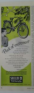 1950-Shelby-Bicycle-Velo-Pic-De-Excitement-Noel-Vintage-Annonce