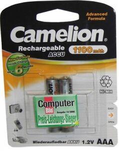2-X-ORIGINAL-Camelion-AKKU-fuer-Siemens-Gigaset-C430A-Telefon-Akku-AAA